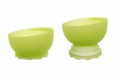 Olababy 100% Toxin-Free Silicone Steambowl Heat-Safe Baby Food Steamer Bowl NIB