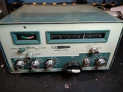 HALLICRAFTERS Model Ht-40 Am/Cw 80-6 Meter Transmitter - $405 00
