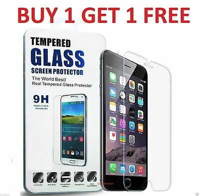 Screen Protector For Apple Iphone 5S 5 SE 5C - Tempered Glass 100% Genuine