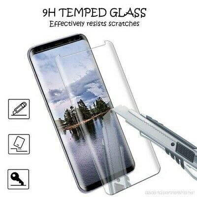 For Samsung Galaxy S8 - 100% Full Curved Tempered Glass LCD Screen Protector