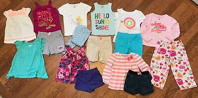 5faa1fee8efe LOT OF 16* Toddler Girls Clothing Lot Summer GAP, Carter's, Old Navy ...