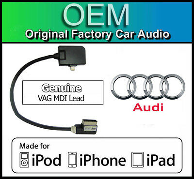 Audi IPHONE 5 Original Audi A4 Ami Lightning Kabel Apple Ipod IPAD