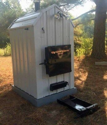 Hyprotherm FLRH-185 Outdoor Wood Burner Hydronic Boiler Furnace Outside 5000 sf