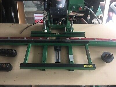 Grass Imperial Hinge Boring Machine with Extensions and 4 Heads