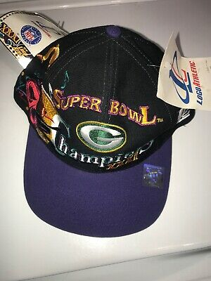 889a14df Green Bay Packers NFL Logo Athletic Super Bowl XXXI Champions adjustable cap /hat