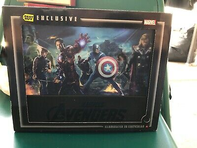 The Avengers Best Buy(Blu-ray/DVD, 2012, 4-Disc Set, Combo Pack 3D/2D Includes..