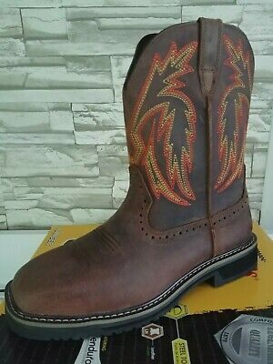 HERMAN SURVIVORS MEN'S Size 10.5 Leather Camo Hunting Boots