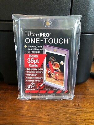 Ultra Pro One-Touch Regular Card 35 Point Card Holder - Lot of 4