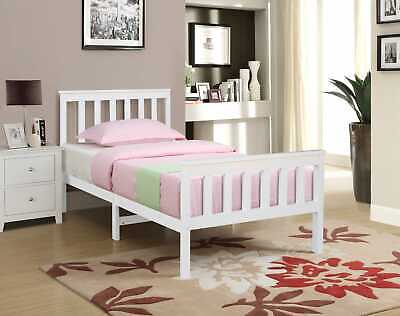 Small Double and Double Pinewood Bed Frame