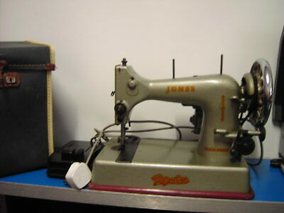 Vintage Jones Sewing Machine with Foot Pedal