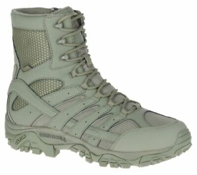 Merrell Tactical Moab 2 8in Tactical Waterproof Boot - Mens, Sage Green, 11.5, W
