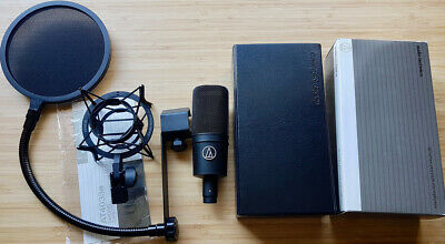Audio-Technica AT4033a cardioid condenser microphone + accessories