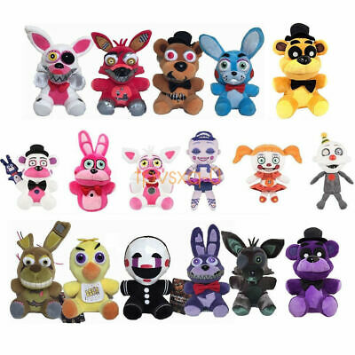 "7"" Five Nights at Freddy's FNAF Horror Game Plush Doll Stuffed Toy BirthDay Gift"