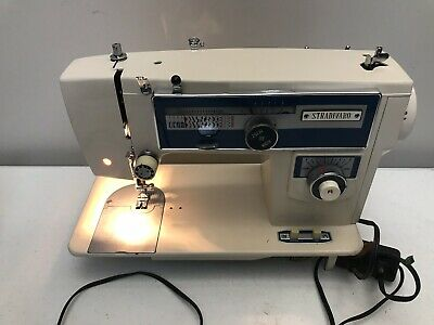 Vintage Zig Zag Multi Stitch Stradivaro Sewing Machine Japan