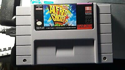SUPER ALFRED CHICKEN - SNES Game - $10 00 | PicClick