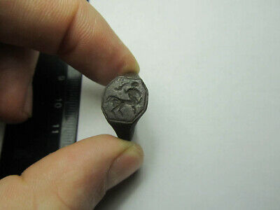 Centaur   ring. Ancient ring  Metal detector finds 100% original