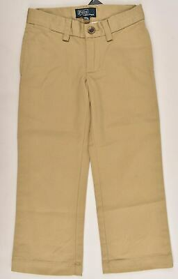 POLO RALPH LAUEN Boys' Kids Chinos Pants Trousers, Khaki, size 3 or 8 years