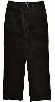 POLO RALPH LAUEN Boys' Kids Corduroy Pants Trousers, Black, size 8 years