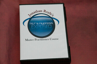 NLP  HYPNOTHERAPY HYPNOSIS   Master Practitioner COURSE Dr. Jonathan Royle