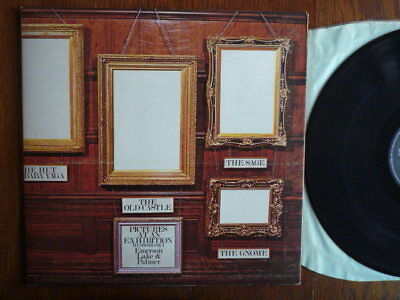 Emerson, Lake & Palmer – Pictures At An Exhibition  UK 1st Press NEAR MINT Rare