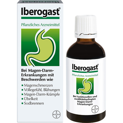 Iberogast ® (BAYER) 100ml Drops | Stomach pain | Abdominal cramps | Heartburn