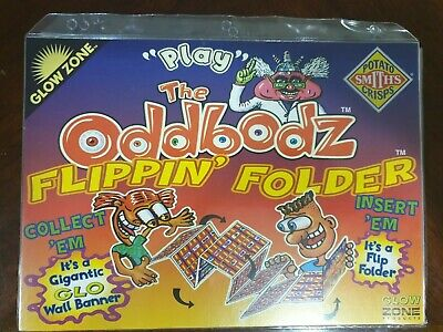 Complete Set Of Oddbodz With Flippin Folder