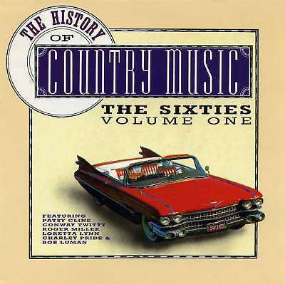 2 CD-Box ! - THE HISTORY OF COUNTRY MUSIC - The Sixties - Volume One