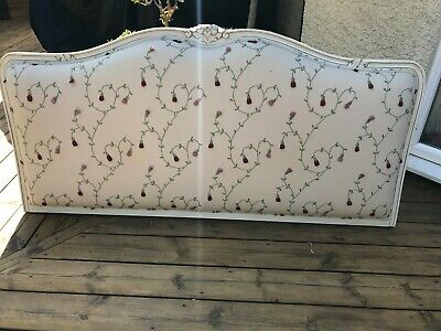 Bespoke Double Headboard - French Shabby Chic - Excellent Condition