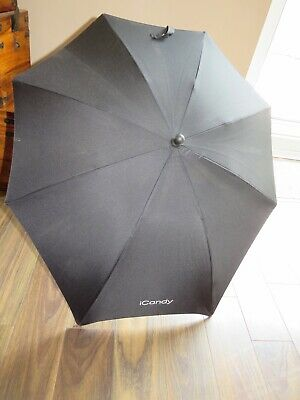 iCandy Sun Parasol Canopy Black With Clip Extra Large New Style