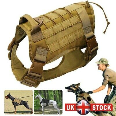 K9 Tactical Military Army Police Molle Dog Clothes Harness Canine Training Vest