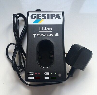 Gesipa Li-Lon 14.4 V Mains battery charger