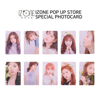 IZ*ONE IZONE - POP UP STORE Official MD - Special Photocard