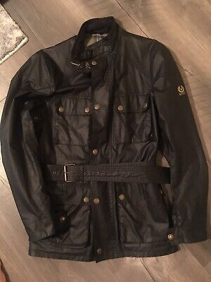 bae54ced1da NWT] BELSTAFF / SOPHNET 100% Waxed Cotton ROADMASTER Belted Jacket ...