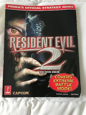 RESIDENT EVIL 2 - Prima Official Strategy Guide: Playstation