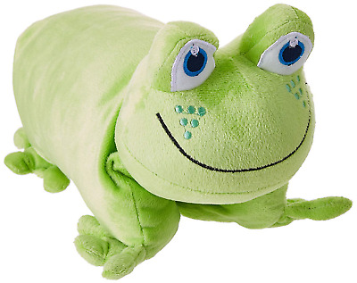 Go Travel Children's Kids Foam Fleecy Washable Neck Frog Toy Pillow Ref 2694