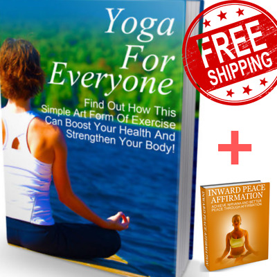 Ebook Yoga for Everyone PDF with Master Resell Rights FREE Shipping Bonus eBooks