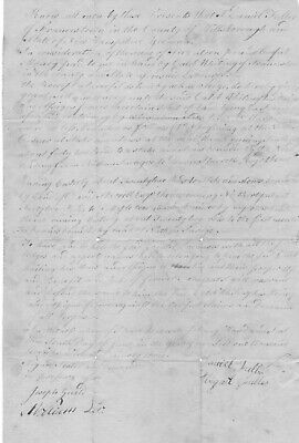 Revolutionary War Soldier Fuller Witnessed Execution Of British Spy Andre--Deed