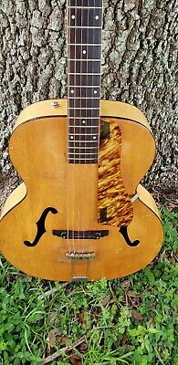 Vintage 1940 Harmony Patrician acoustic archtop guitar