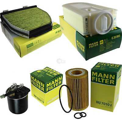 Mann-Filter Paquet Inspection Set Mercedes-Benz Classe C