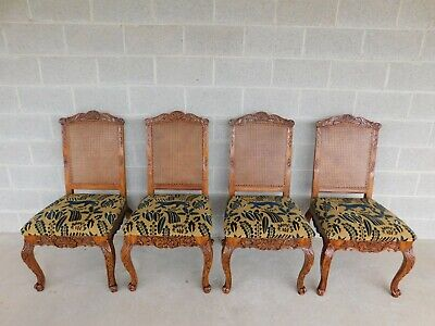 Lineage Furnishing Louis XV Style Dining Side Chairs - Set of 4
