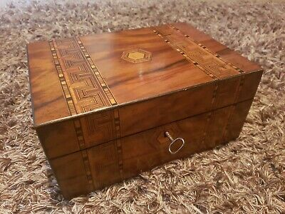 Beautiful Wooden Box With Inlay