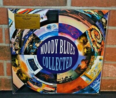 """MOODY BLUES - Collected, Limited Import 180G 2LP COLORED VINYL Foil #""""d New OOP!"""