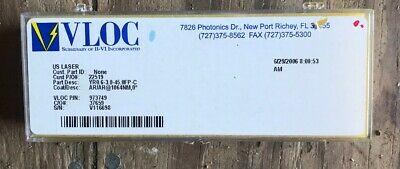 VLOC Nd:YAG Laser Rod YR0.6-3.0-45.0FP-C AR/AR 1064nm New In Box