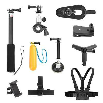 Selfie Stick Tripod Bicycle Holder Kit for DJI OSMO Action Diving Sport Cam Set