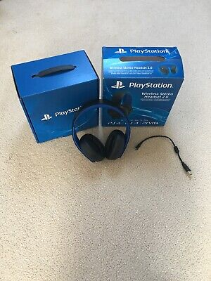 Sony PlayStation Wireless Stereo Headset 2.0 PS4 PS3 Virtual 7.1 Surround