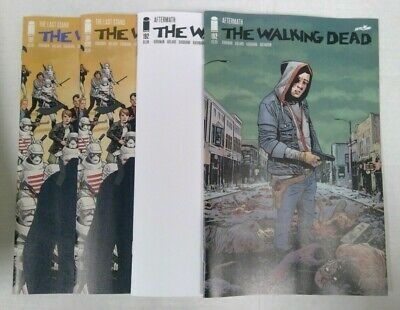 The Walking Dead #191 1st & 2nd print #192 KEY ISSUES Rick Grimes Image Comics