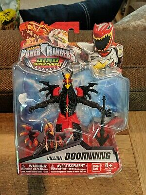 "Power Rangers Dino Super Charge DOOMWING Villain 5"" Figure 2016 new"