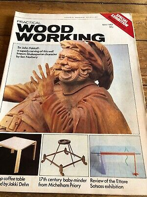 Vintage Practical Woodworking Magazine May 1983