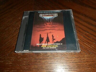 Halloween III Season Of The Witch Motion Picture Soundtrack (Music CD)