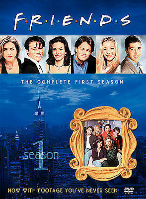 Friends-The Complete First Season(DVD, 2002-4-Disc Set-Four Disc Boxed Set)(F11)